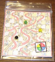 Games for Chutes and ladders board game template